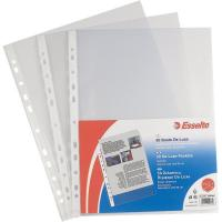 Buste perf. univers. Copy Safe Esselte - Office 42x30 cm goffrata antiriflesso - 552300 (conf.50)