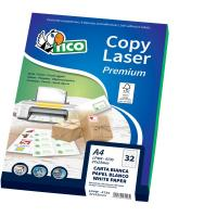 Etichette Copy Laser Prem.Tico per CD Las/Ink/Fot CD Ø 117mm bianco - LP4W-CD117 (conf.100)