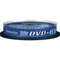 DVD+R Verbatim 4,7 Gb - 16x - Spindle - 43498 (conf.10)