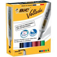 Marcatore Velleda 1781 Bic - assortiti - scalpello - 3.2-5.5 mm - 9402951 (conf.4)