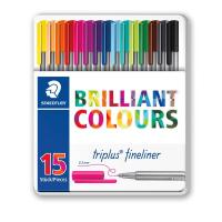 Triplus® fineliner 'Brilliant Colours' Staedtler - 334M15 (conf.15)
