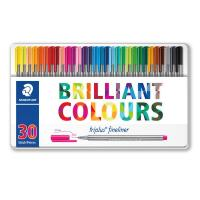 Triplus® fineliner 'Brilliant Colours' Staedtler - 334M30 (conf.30)