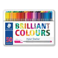 Triplus® fineliner 'Brilliant Colours' Staedtler - 334M50 (conf.50)