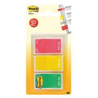 Segnapagina Post-it® Index Medium 'To Do'  - rosso, giallo, verde - 682-TODO-EU (conf.3)