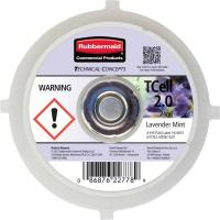 Ricarica per profumatore Tcell 2.0 Rubbermaid  - lavender mint - 1957526