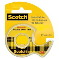 Chiocciola ricaricabile nastro biadesivo Scotch® 665 - 12 mm x 6,3 m - 665-136D