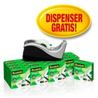 Scotch® Magic™ 810 Value Pack + Dispenser  - 19 mm x 33 m - 8-1933R16C60 (conf.16 rotoli+dispenser)