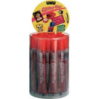 Glitter Glue UHU - Original - rosso - 20 ml - D1554