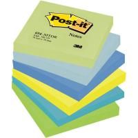 Post-it® Note Dream - tinta unita - 100 - 76x76 mm - verde,blu - 654-MTDR (conf.6) (Conf. 6) (Conf. 6)