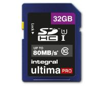 Flash memory card Integral - 32 GB - INSDH32G10-80U1