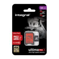 Flash memory card Integral - 32 GB - INMSDH32G10-90/45U1