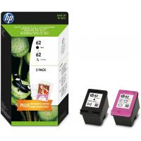 Originale HP inkjet combo pack cartucce 62 - nero +colore - N9J71AE