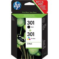 Originale HP inkjet combo pack cartucce 301 - nero +colore - N9J72AE
