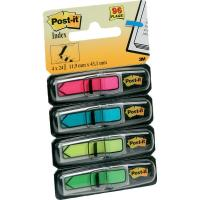 Post-it® Index Mini 684 - azzurro, giallo, rosa, verde - 684-ARR4 (conf.4)