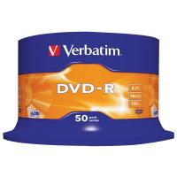 DVD-R Verbatim 4,7 Gb - 16x - Spindle - 43548 (conf.50)
