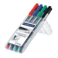 Penna punta sintetica Lumocolor® CD/DVD Staedtler-assortiti-superfine-0,4 mm-310 CDSWP4 (conf.4)