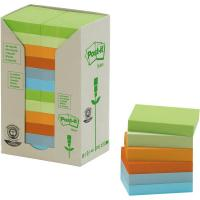Post-it® Note in carta riciclata - assortiti pastello - 38x51 mm - 653-1RPT (conf.24)