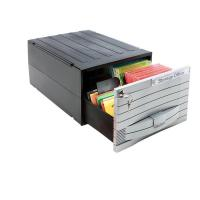 Schedari mod MediaSolutions 160 Exponent World - Multimedia Box - 35x25,5x17,3 cm - 47 CD/DVD - 34602