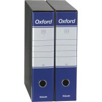 Registratori Oxford Esselte - commerciale - dorso 8 - F.to utile 23x30 cm - blu - 390783050 (conf.6) (Conf. 6) (Conf. 6)