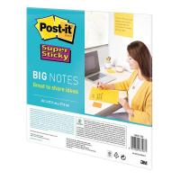 Post-it® Supersticky big notes - 27,9x27,9 cm - giallo -  BN11