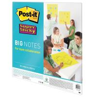Post-it® Supersticky big notes - 55,8x55,8 cm - verde neon - BN22