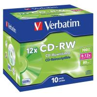 CD Verbatim Verbatim - CD-RW - Jewel case - 12x - 43148 (conf.10)
